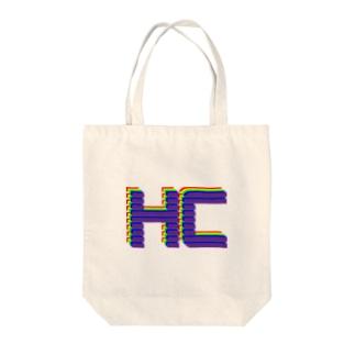 重複HCカラフルver. Tote bags