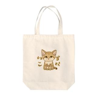 スナネコ Tote bags