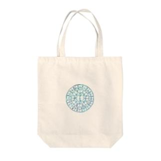 海色のフトマニ Tote bags