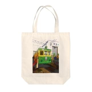 江ノ島電鉄 Tote bags