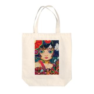 Shiny girl (Anna) Tote Bag