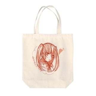 ついんこ Tote bags