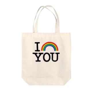 I NIJI YOU Tote bags
