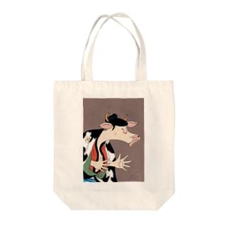 丑世絵 Tote bags