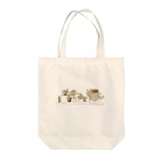 春待ち② Tote bags