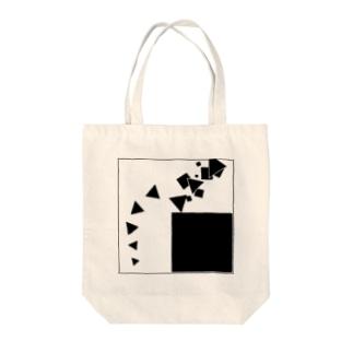 ムーブメント【模様シリーズ】 Tote bags