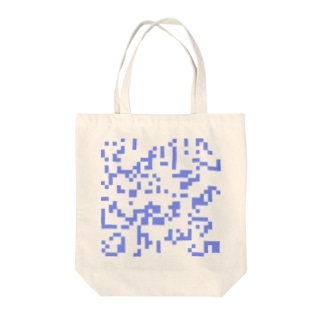 Game of Life(Blue) Tote bags