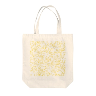 Game of Life(Yellow) Tote bags