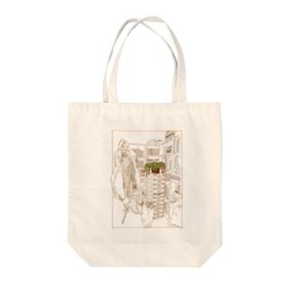 春待ち③ Tote bags