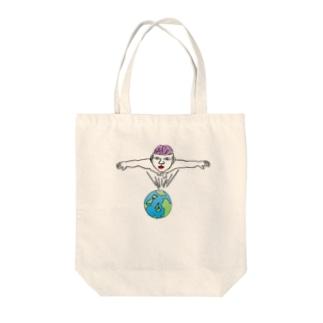 Mr.ブレインマン Tote bags