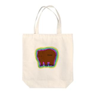 カバくん Tote bags
