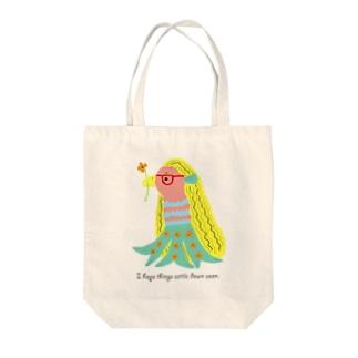 アマビエちゃん Tote bags