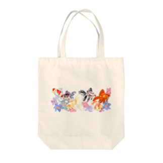 桜東錦たち Tote bags