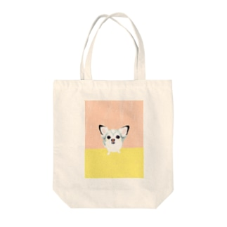 「保護犬カフェ支援」グッズ ビビィさん Tote bags