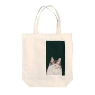 猫くん Tote bags
