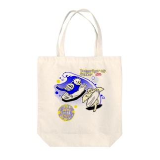 インコサーファー Tote bags