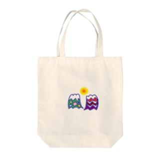ふじへんげ Tote bags