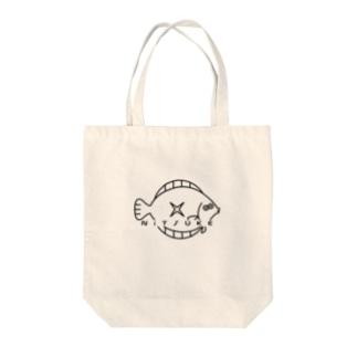 カレイの煮付け Tote bags