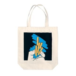 ポテト?芋けんぴ?芋けんぴ! Tote bags