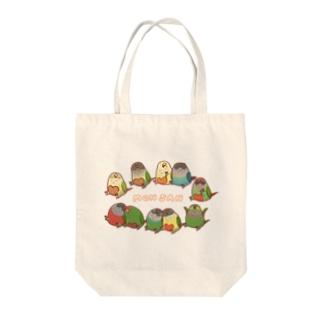 《MONSAN》ウロコズ Tote bags