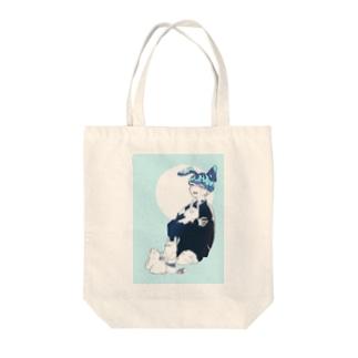ヤマトくん Tote bags