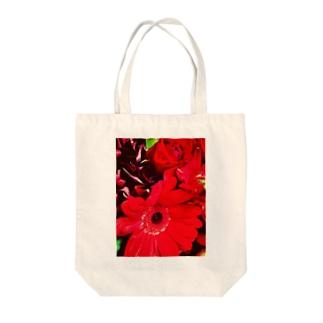 flower* Tote bags