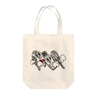 FAREWELL, PLASTICS 【TOAT】 Tote bags