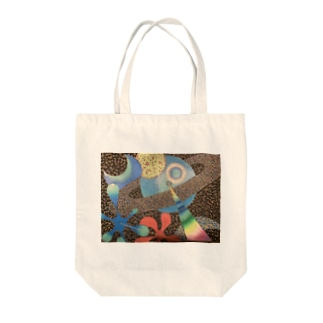 SHU KATO絵画オリジナルグッズ Tote bags