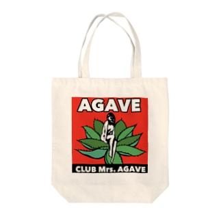 CLUB Mrs.AGAVE Tote bags