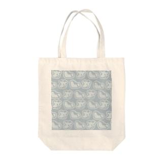 ドット絵シンプル牛 Tote Bag