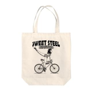 """""""SWEET STEEL Cycles"""" #1 Tote Bag"""