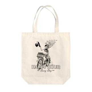 """HAPPY HOUR""(B&W) #1 Tote Bag"