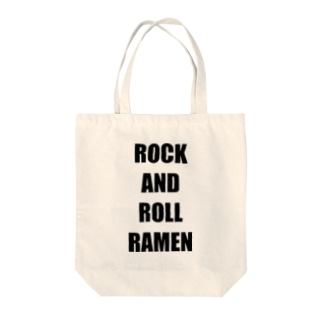 ROCK AND ROLL RAMEN Tote bags