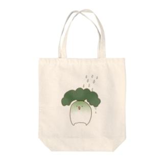 水やり(だいこんに水をかける図) Tote bags