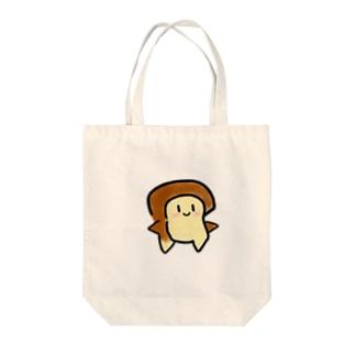 しょくぱんさん Tote bags