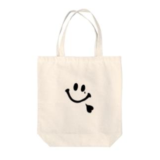 にこにこちゃん Tote bags