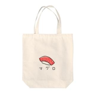 マグロのお寿司 カタカナ Tote bags