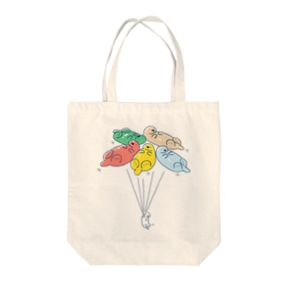 ラッッッコ「バルーン」 Tote bags