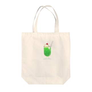 メロンソーダ Tote bags