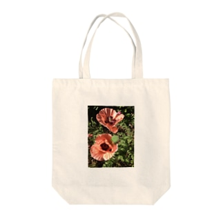 poppy Tote bags