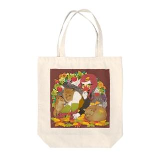 かわい~~~秋 Tote bags