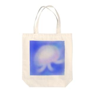 くらげちゃん Tote bags