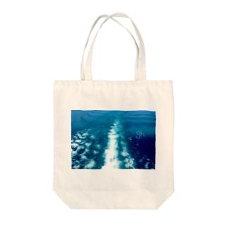gh(ocean) Tote bags