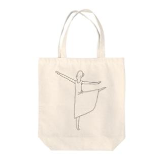 ballerina Tote bags