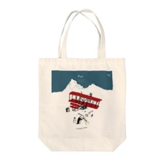 ペンギンオーダー Tote bags