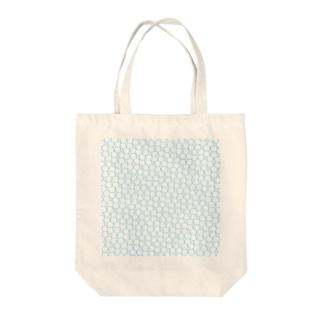 ペンタゴン Tote bags