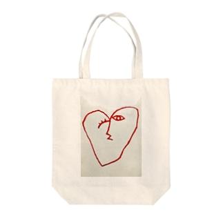 Tomoya SatoのLOVE Tote bags