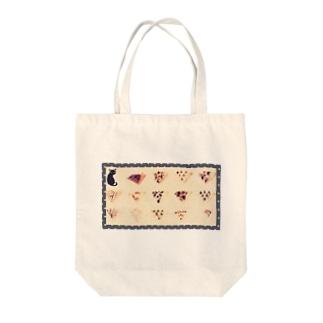 にゃんとクレープ Tote bags