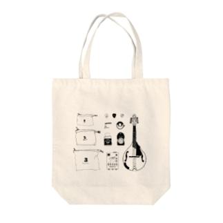 【楽器シリーズ】マンドリン Tote bags