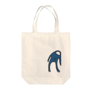 ハリツケ顔のハーリーさん Tote bags